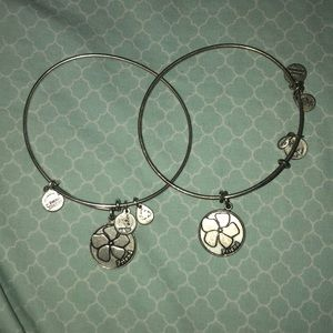 "Jewelry - Two Matching ""Friend"" alex and ani bracelets"